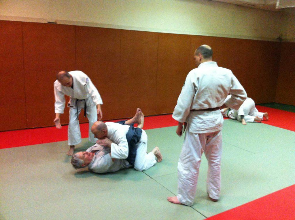 Ju-Jitsu à l'ASPP