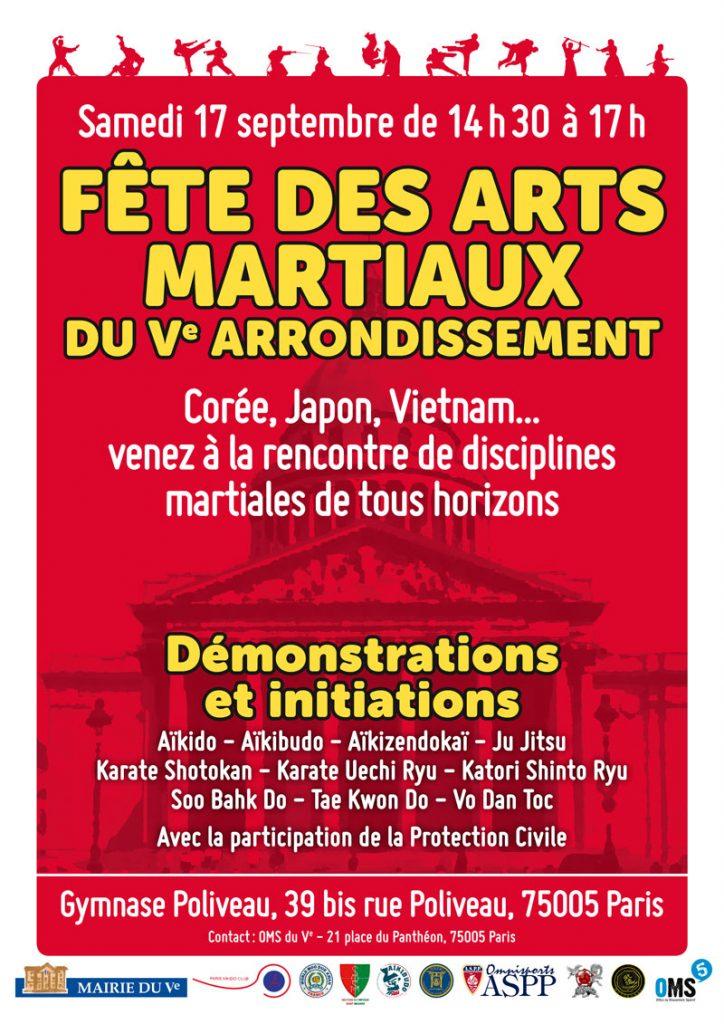 Fête des arts martiaux du 5e 2016