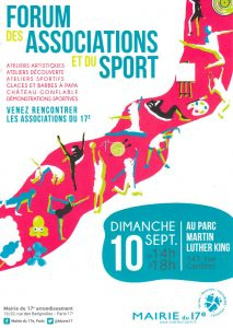 Forum des associations 2017 Paris 17