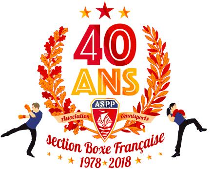 ASPP Boxe Française 40 ans - 1978/2018