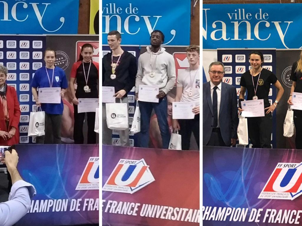 ASPP Champions de France Universitaire FFSU Savate