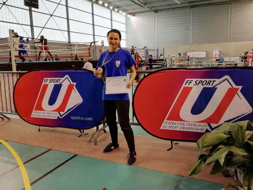 ASPP Champions de France Universitaire FFSU Boxe