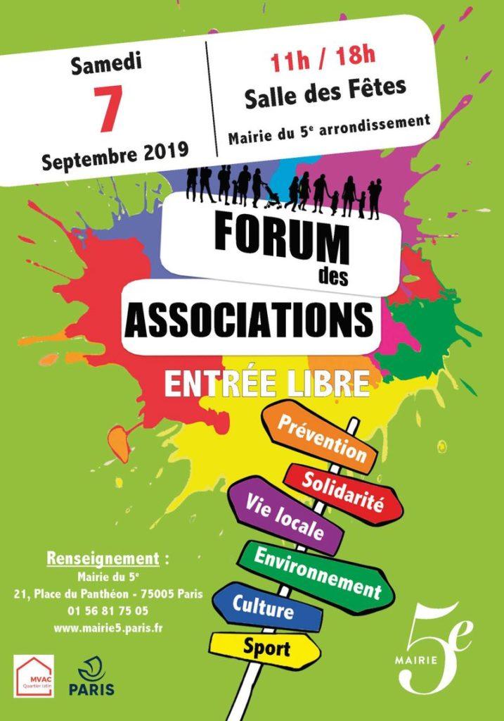Forum Associations Paris 05 2019